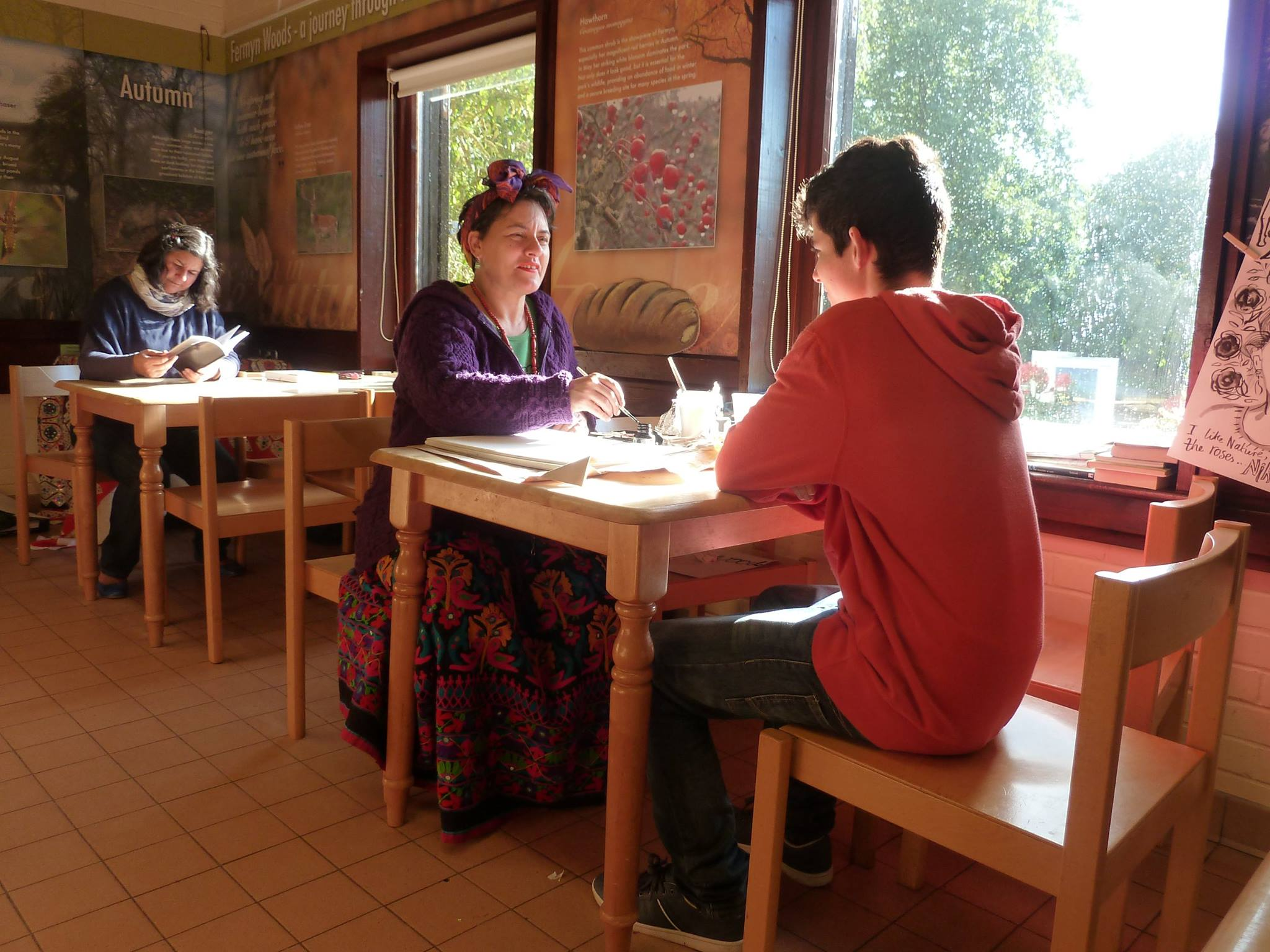 Contemporary Poem About Nature Country Park Cafe Victor