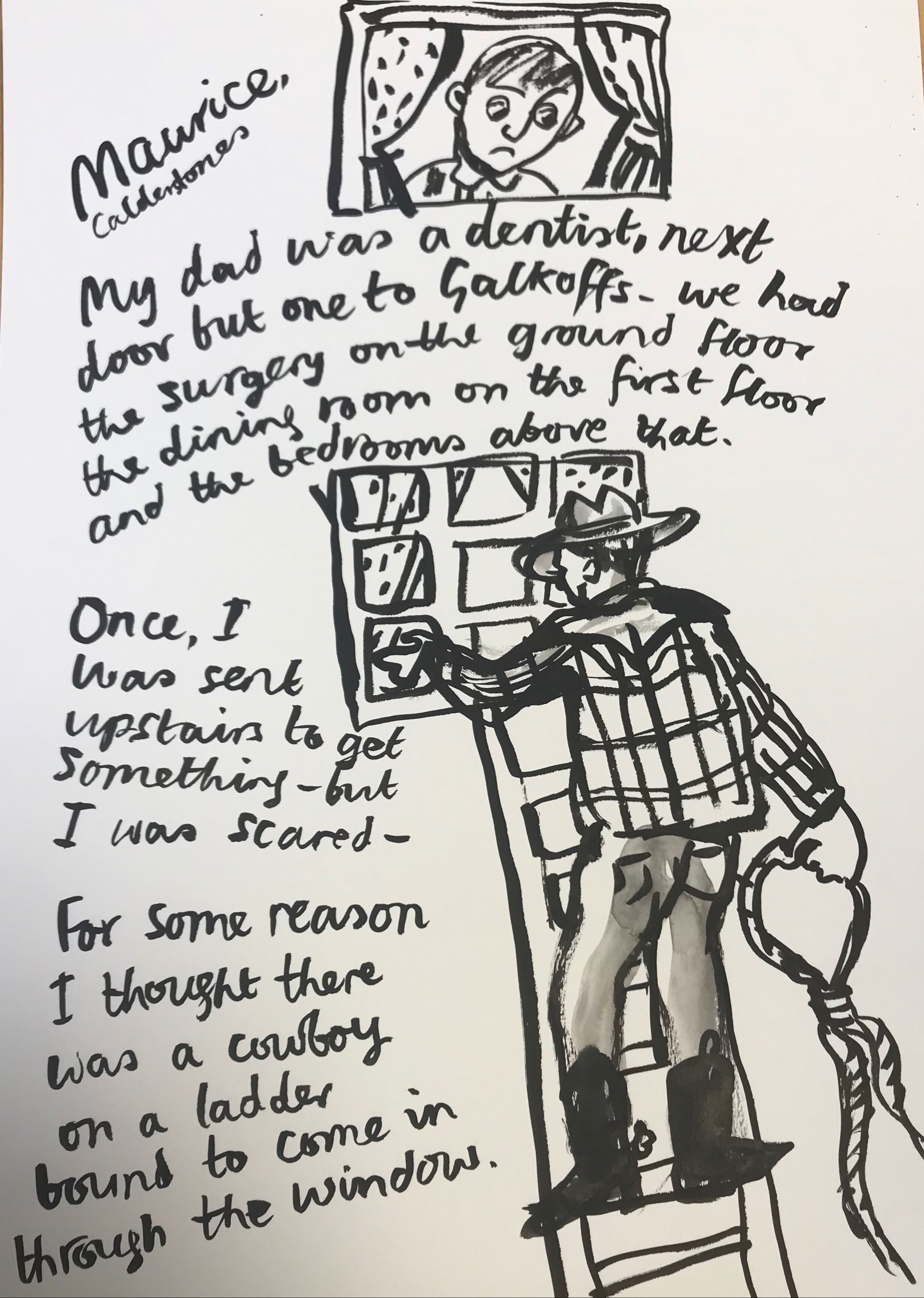 sinister cowboy